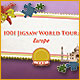 1001 Jigsaw World Tour – play and journey across Europe